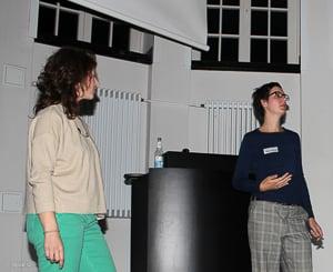 Ilona und Manuela über das Träumen und Feiern in Projekten.