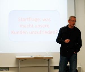 Frank Mohren fängt an